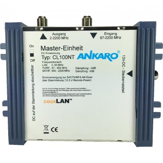 Ankaro CL 100NT coaxLan Stromversorgung,BK-Anlagen