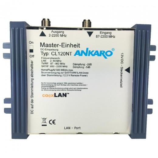 Ankaro coaxLan CL 120NT Stromversorgung,BK-+Sat Anlagen