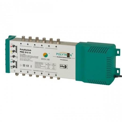 Polytron  PSG 512 A Multischalter 5/12, Netzteil, Pegelsteller