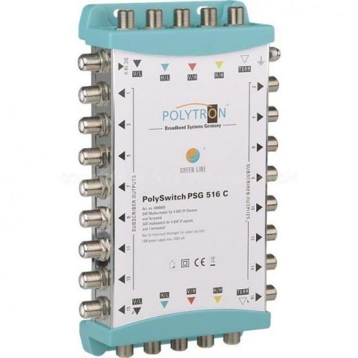 Polytron  PSG 516 C Kaskaden-Multischalter 5/16