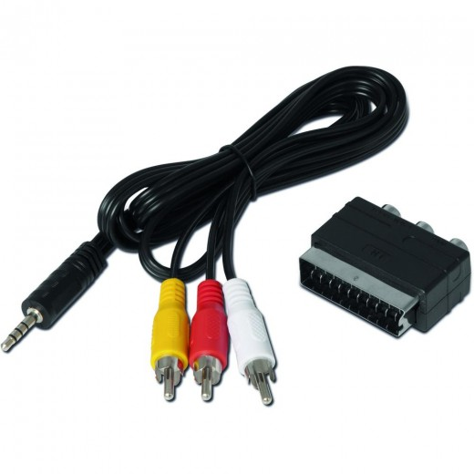 Technisat  0000/3649 Adapterset Klinke - Cinch/Scart