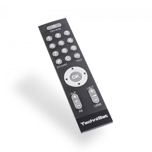 TechniSat IsiZapper (0000/3773) Senioren-Fernbedienung mit extra großen Tasten