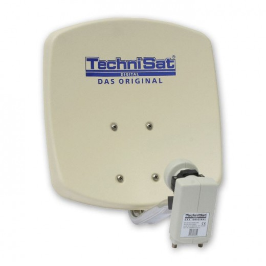 TechniSat DigiDish 45 mit Twin LNB 1045/2882