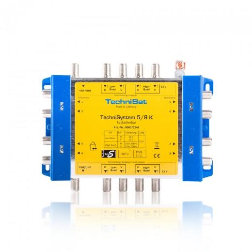 TechniSat TechniSystem 5/8 K 0000/3248 kaskadierbarer Multischalter