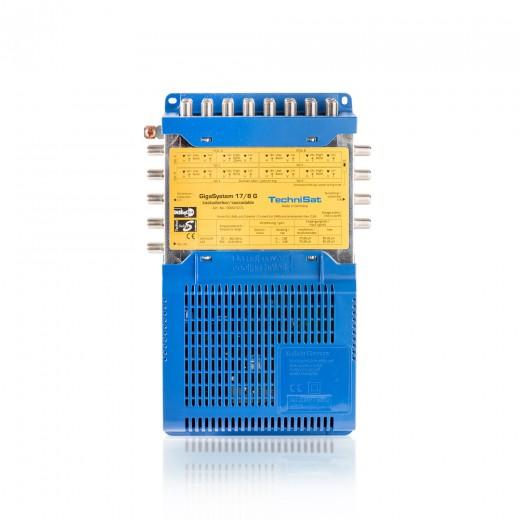 TechniSat GigaSystem 17/8 G 0000/3271 Sat Multischalter 8 Teilnehmer, 4 Satelliten | Grundeinheit für Kaskadensysteme
