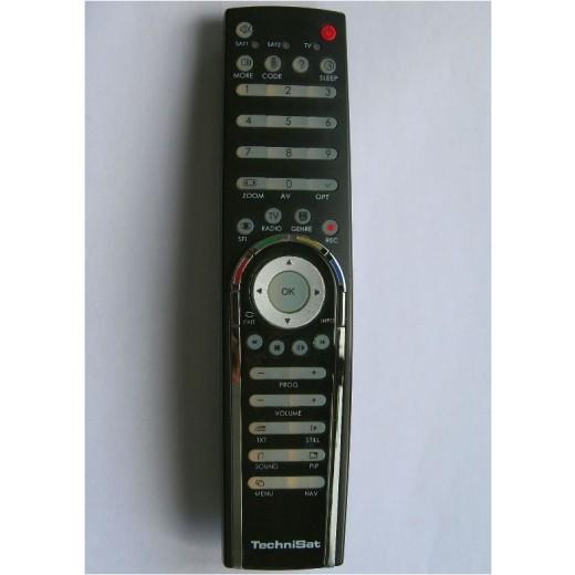 TechniSat Fernbedienung schwarz 0000/3717 LCD-Komfort-Fernbedienung für HD-Vision Geräte