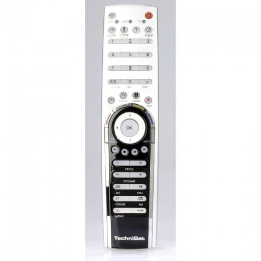TechniSat Fernbedienung 0001/3717 LCD-Komfort-Fernbedienung für HD-Vision Geräte