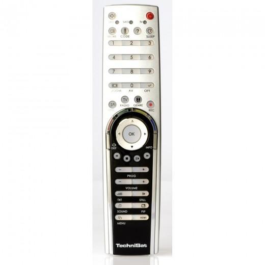 TechniSat Komfort-Fernbedienung 0001/3709 Komfort-Fernbedienung für TechniSat Digicorder S1, S2, HDS2, HD8-S, HD8-C, K2 und HDK2 und Orbitech CI 500 Twin