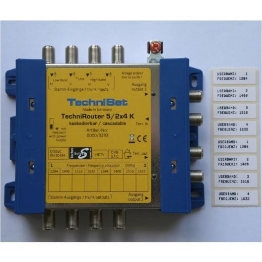 Technisat TechniRouter 5/2x4 K 0000/3293
