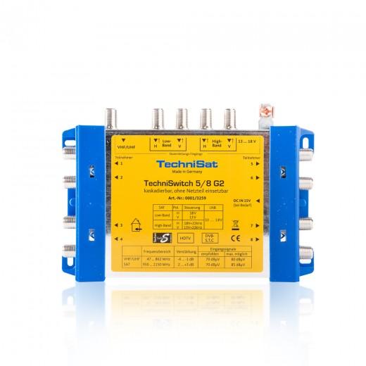 TechniSat TechniSwitch 5/8 G2 3234/3259 Multischalter Grundeinheit