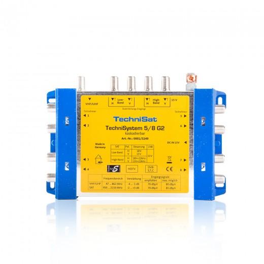 TechniSat TechniSystem 5/8 G2 0001/3249 Multischalter Grundeinheit kaskadierbar