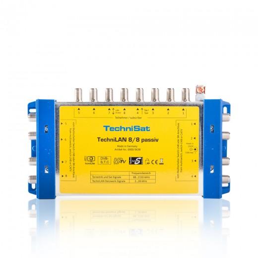 TechniSat TechniLAN 8/8 Passiv 0000/3638 Einschleusweiche SAT/Internet