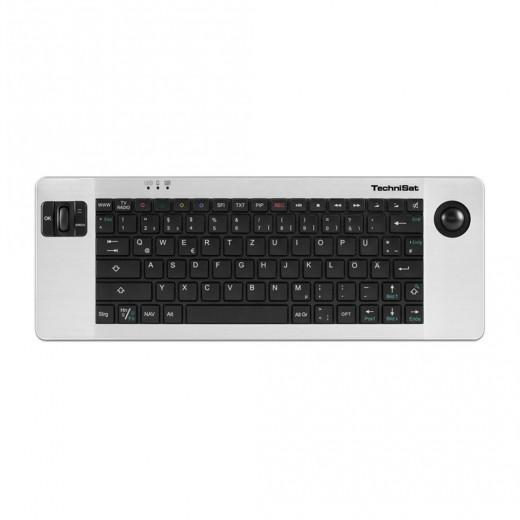 TechniSat ISIOControl Keyboard II Aluminium-Funktastatur(0002/3850) ISIO-Geräte