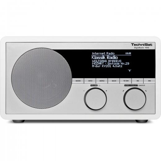 Technisat  0001/4962 DigitRadio 400, weiß