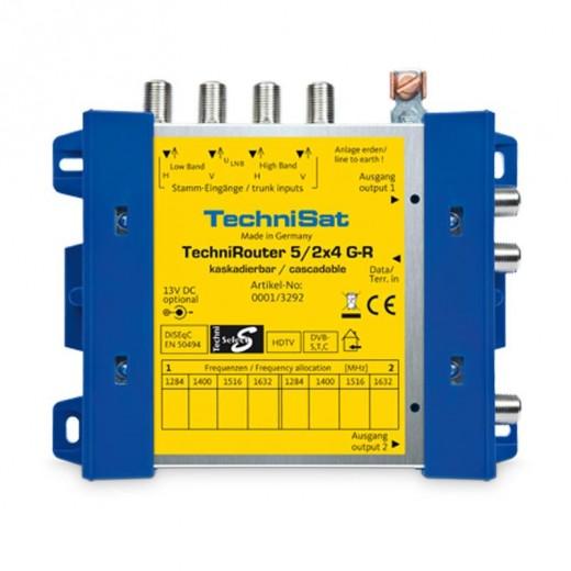 TechniSat TechniRouter 5/2x4 G-R (0001/3292) Grundeinheit 1 Satellit 8 Teilnehmer