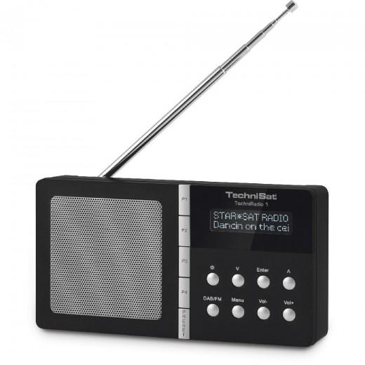 Technisat  0000/4966 TechniRadio 1, DAB+/UKW,schwarz