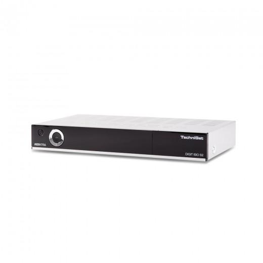 TechniSat Digit ISIO S2 silber (0001/4756) HDTV-DigitalSat-Receiver mit Twin-Tuner