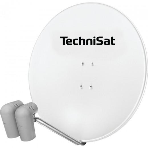 TechniSat Gigatenne 850 polarweiß Astra/Hotbird 9728/8887 ohne Multischalter
