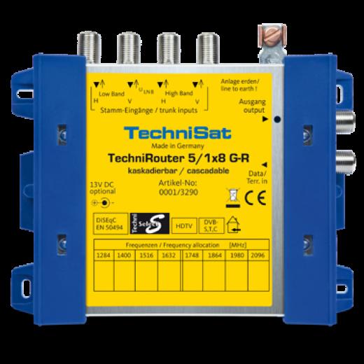 Technisat  0001/3290 TechniRouter 5/1x8 G-R Basisgerät