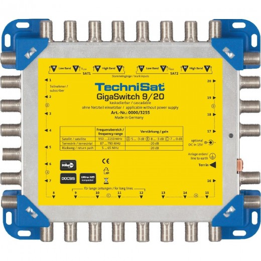 Technisat 0000/3255 GigaSwitch 9/20