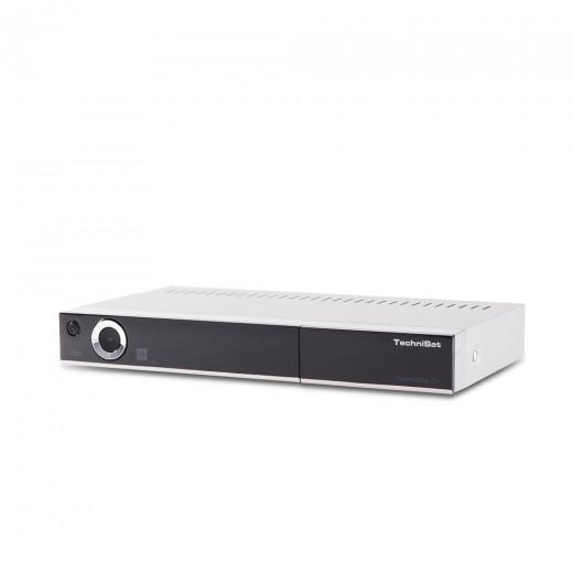 TechniSat TechniStar S1+ silber 0016/4741 | HD+ Receiver, HD+ Karte 6 Monate