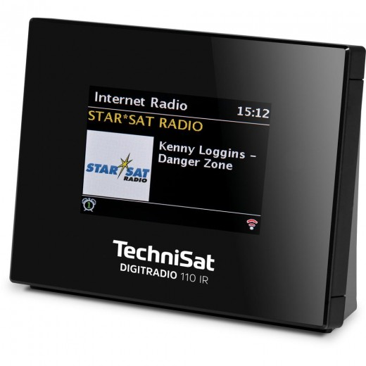 Technisat  0010/4958 DigitRadio 110IR | schwarz, TFT-Display, WLAN, DAB+