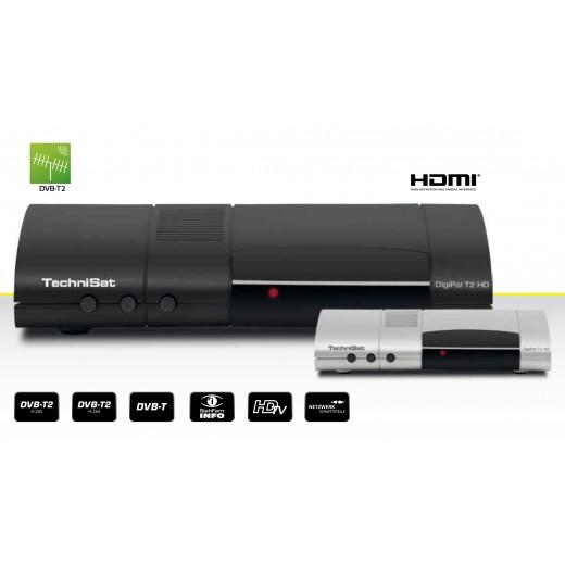 TechniSat DigiPal T2 HD anthrazit 0000/4930 DVB-T2 HD Receiver Irdeto Entschlüsselung