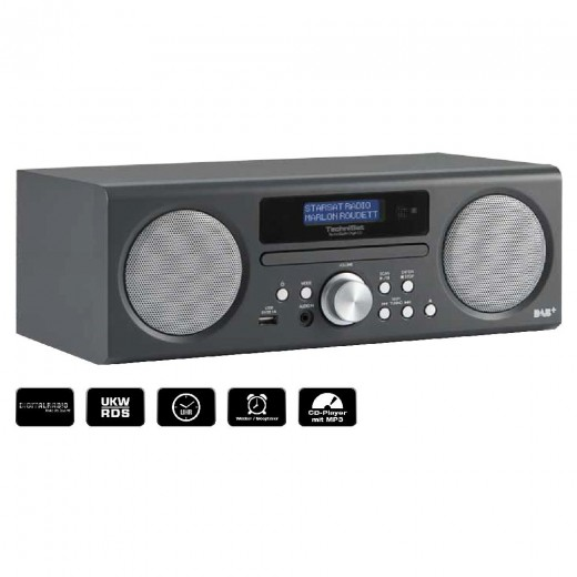 Technisat  0000/4979 TechniRadio Digit CD, anthrazit