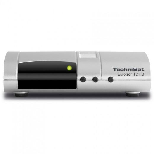 TechniSat Eurotech T2 HD silber 0001/4922 DVB-T2 HD Receiver
