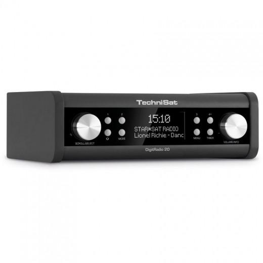 Technisat  0000/4987 DigitRadio 20 | schwarz, DAB+, OLED Display