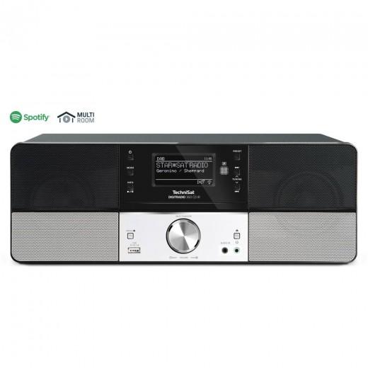 Technisat  0010/4990 DigitRadio 360 CD IR | schwarz, DAB+/UKW, Internet