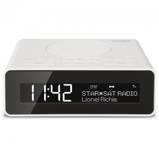 Technisat  0001/4981 DigitRadio 51 | weiß, DAB+/UKW, LCD-Display