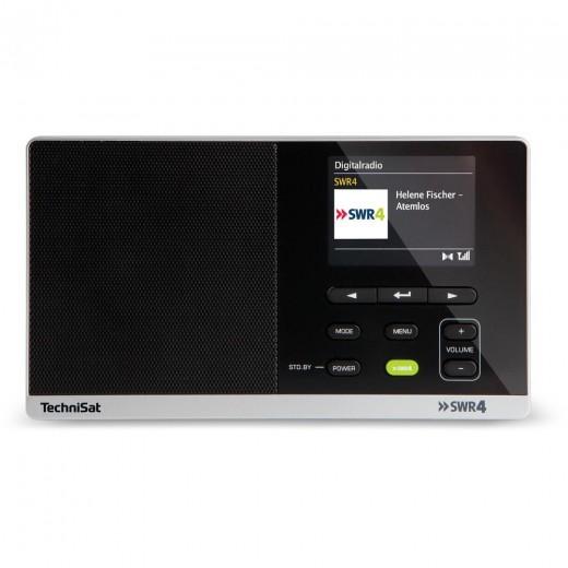 TechniSat DigitRadio 215 SWR4-Edition schwarz 0000/4995 | DAB+/UKW-Radio