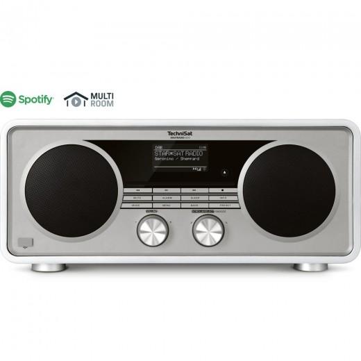 Technisat  0001/4985 DigitRadio 600 | weiß, DAB+/UKW, WLAN