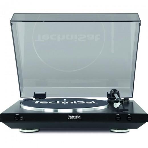 Technisat TechniPlayer LP 200 0000/9412 | Vinyl Plattenspieler schwarz/silber