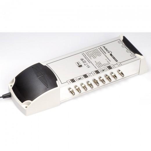 AMS 904 N Multischalter für 4 Teilnehmer mit ECO-Funktion und terrestrischem Verstärker
