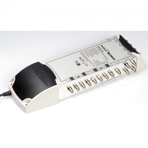 AMS 916 N Multischalter für 16 Teilnehmer mit ECO-Funktion und terrestrischem Verstärker