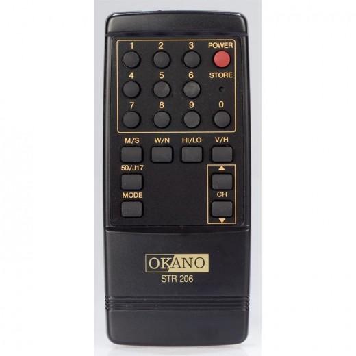 Teleka FB STR 2060 Original-Fernbedienung für STR 2060 und Okano STR 206 Receiver