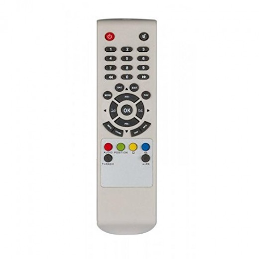 Telestar 5400005 Original-Fernbedienung für SRS 1 Receiver