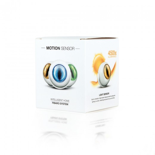 Fibaro Motion Sensor FIB FGMS-001 | Multisensor für Licht, Bewegung und Temperatur