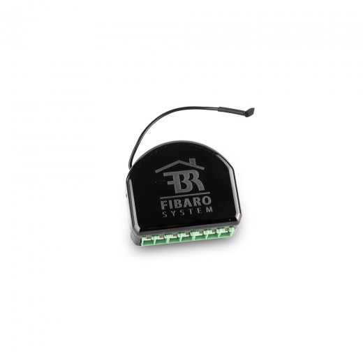 fibaro relais relay switch 2x 1 5 kw f r unterputzeinsatz 2 schalter z wave. Black Bedroom Furniture Sets. Home Design Ideas
