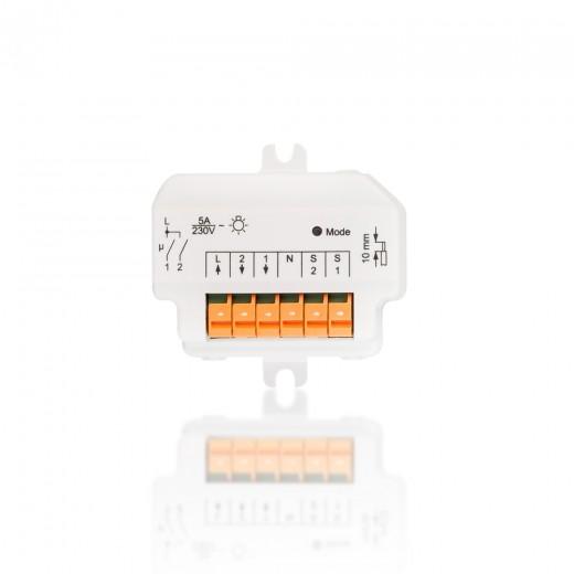 HomeMatic Funk-Schaltaktor Unterputzmontage 2-fach 76794 HM-LC-Sw2-FM