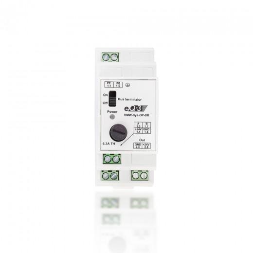 HomeMatic Wired RS 485 Überspannungsschutz 85978 HMW-Sys-OP-DR Hutschienenmontage