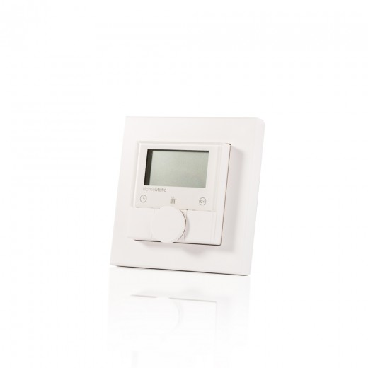 HomeMatic Funk Wandthermostat weiß 132030 HM-TC-IT-WM-W-EU Aufputzmontage