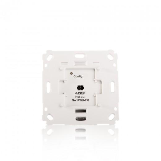 HomeMatic Funk-Schaltaktor 1-fach 103029 für Markenschalter Unterputzmontage B-Ware