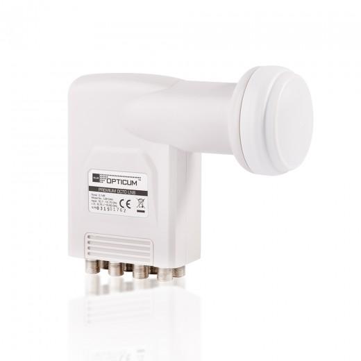 Opticum LOP-04H Premium Octo LNB 0,1 dB 8 Teilnehmer Full-HD 3D 4K