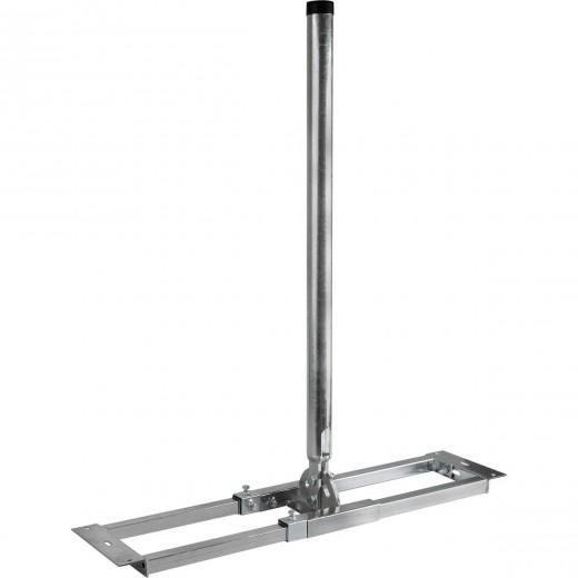 DUR-line Stabilo Dachsparrenhalter 48-1000 | Ø50mm, 100cm Mastlänge, 55-90 cm Sparrenabstand