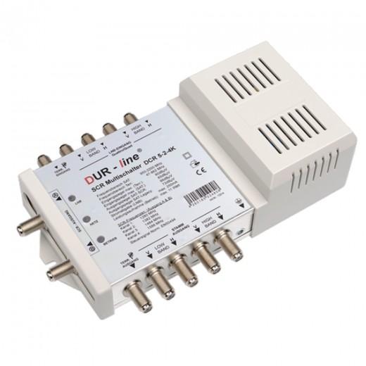 DUR-line DCR 5-2-4K Einkabel-Kaskade für 2x4 Teilnehmer, Erweiterung zu DCR5-2-4L4