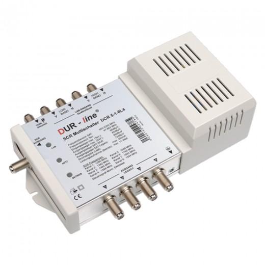 DUR-line DCR 5-1-8L4 Einkabel-Multischalter für 1x8 + 4 Teilnehmer