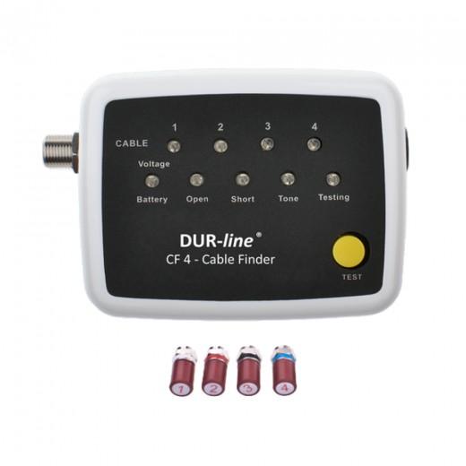 DUR-line CF 4 Cable-Finder zur Ermittlung der Kabelstränge